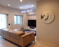 I氏邸 living room