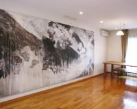Y氏邸 living room 1